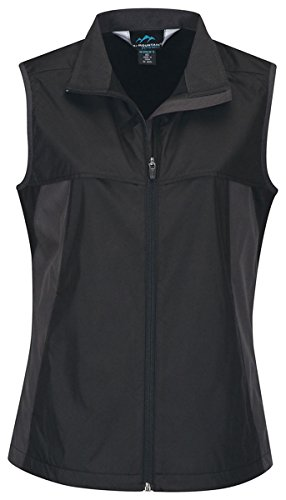 Womenâs 100% Polyester,, Black/Charcoal X-Large front-1058054