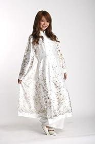『vivi本格アオザイ《茶》ベトナム民族衣装』【セクシーコスプレ】/【M】