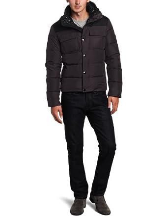 麦克科尔斯Michael Kors Down Jacket男子羽绒夹克 黑 $85.01