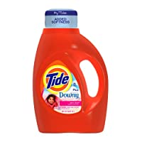 Tide With Touch Of Downy April Fresh Scent Liquid Laundry Detergent 50 Fl Oz
