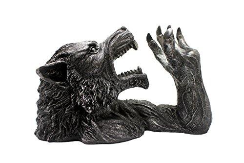 wolfsbane werewolf wine bottle holder gothic kitchen decor