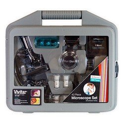Vivitar-40-Piece-Microscope-Set