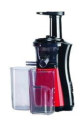 Platini VJ01 150-Watt Vitamin Slow Juicer (Cherry Red/Black)