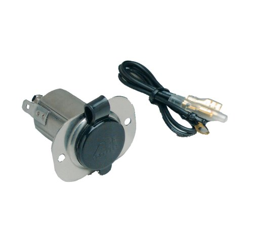 Marinco Receptacle 12V Ss With Cap