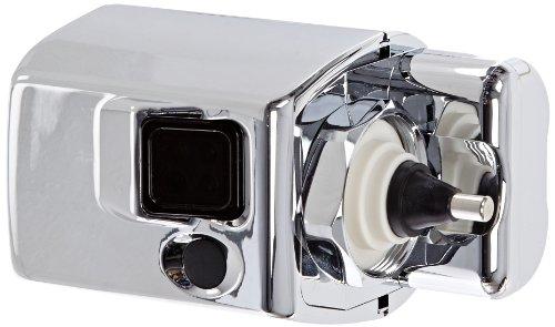 Rubbermaid FG401981 Metal Auto Flush Side Mount Polished Chrome Tiolet Flushing System, 4-3/4