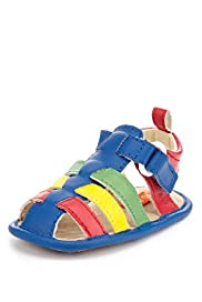 Multi Strap Pram Shoes