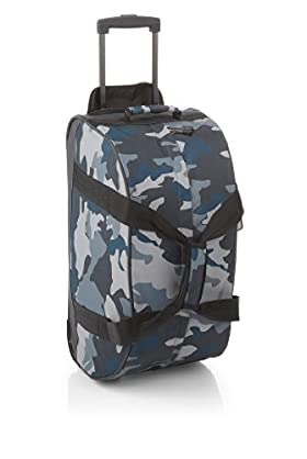 Boys' Camouflage Trolley Bag