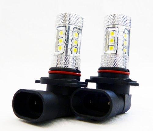 Genssi 2X 80W Cree White H9 High Power Led 12V 24V Low Beam Fog Led Lamp