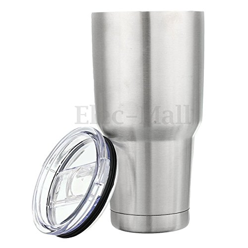 OEM 30oz Stainless Steel Vacuum Insulated Tumbler Double Wall Travel Cup + Lid (40 Oz Cup With Lid And Straw compare prices)