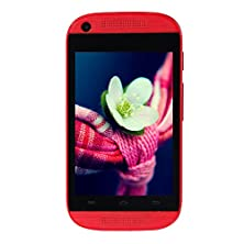 buy 2016 Unlocked Dual Sim Branded Android 4.4 Dual Core Smartphone - Decent 3.5 Inch Multi-Touch Display Gsm 2G Wifi Cell Phone, Original Without Contract (Red)