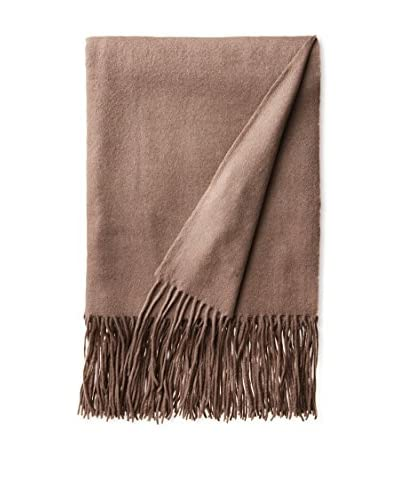 a & R Cashmere Waterweave Cashmere Throw, Sand