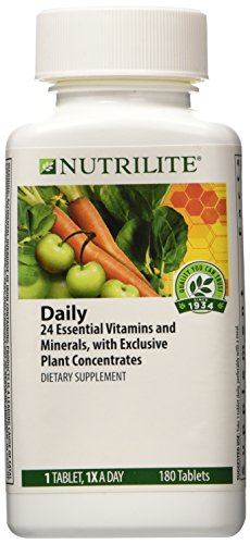 NUTRILITE® Daily Multivitamin Multimineral DIETARY SUPPLEMENT 180 TABLETS (Nutrilite Amway Vitamin compare prices)