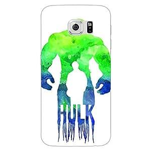 Jugaaduu Superheroes Hulk Back Cover Case For Samsung S6