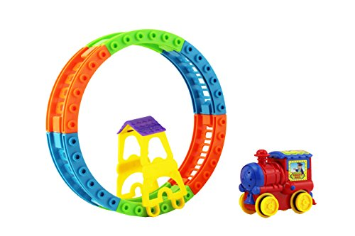 Play-And-Learn-Deluxe-Choo-Choo-Train-on-Railway-With-Sound-Play-Set-Toy