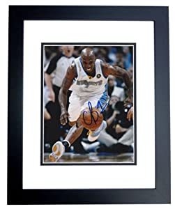 Chauncy Billips Autographed Hand Signed Denver Nuggets 8x10 Photo - BLACK CUSTOM... by Real Deal Memorabilia