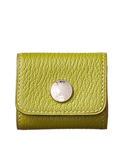 Hermès Petite Green Block Notes Holder