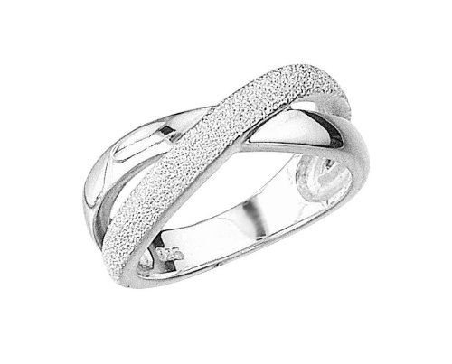 Elements Sterling Silver R702 54 Ladies 1/2 Diamond