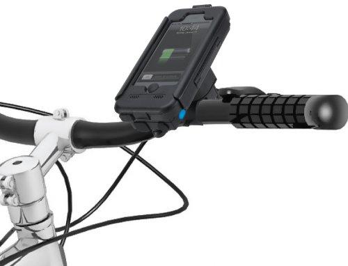 大容量バッテリー搭載TiGRA Sport BikeCONSOLE POWER PLUS for iPhone5S/5 自転車 バイク ホルダー ケース  防水 防塵 耐衝撃