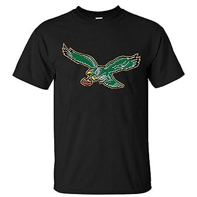 Spreading Men's Philadelphia Eagles Gold Collection Black T shirt