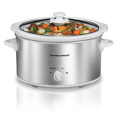 Hamilton Beach 33249 Stay or Go Slow Cooker, 4-Quart from Hamilton Beach