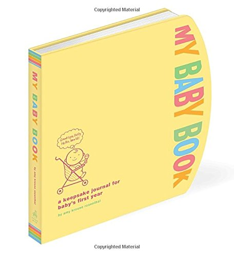 My Baby Book: A Keepsake Journal for Baby's First Year (Baby Books Canada compare prices)