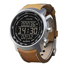 Suunto 2013 Suunto Elementum Terra Leather Strap Watch