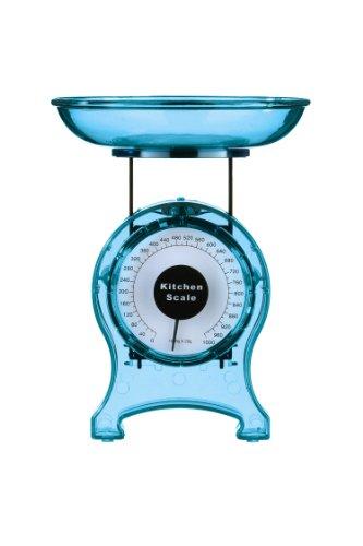 Premier Housewares 0807222 Balance de Cuisine Plastique Bleu 1 kg