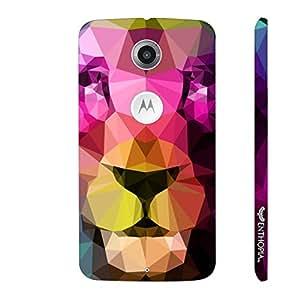 Motorola Moto X2 2nd Gen 3D Lion designer mobile hard shell case by Enthopia