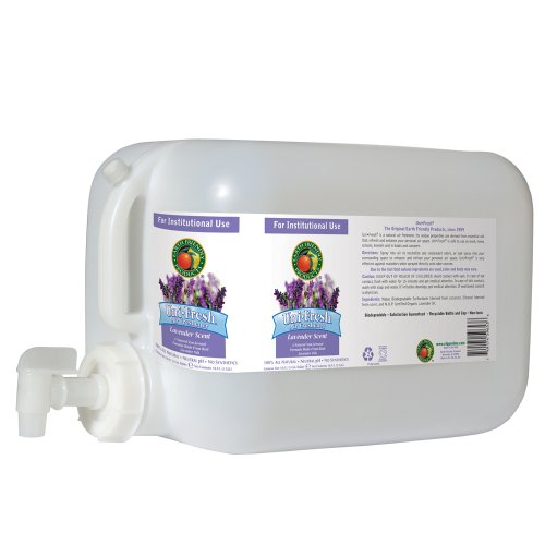 Earth Friendly Products Proline PL9653/05U Lavender UniFresh Air Neutralizer and Freshener 5 gallon Deltangular