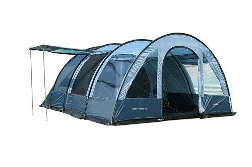 Marechal port cros 5 tente tunnel familiale tentes for Tente deux chambres