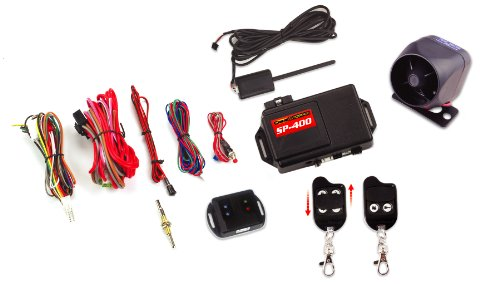 Crimestopper SP-400 Car Alarm with Remote Start, Keyless Entry and Engine Disable