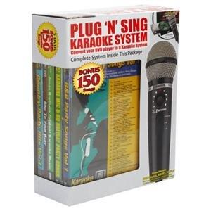 Emerson Karaoke, Plug N Play Karaoke Microphone (Catalog Category: Home & Portable Audio / A/V Receivers)