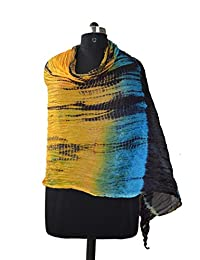 Taffeta Silk Multi Tie & Die Hand Work Indian Veil ,women/'s Scarves , Dupatta - B016195NLO
