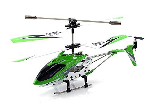 Genuine Syma S107 / S107G 3.5ch Mini RC Helicopter - Green (Original