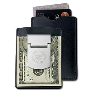 Cadillac Black Zippo Money Clip