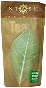 Stash Tea Company Super Irish Breakfast Loose Leaf Tea, 3.5 Ounce Pouches (Pack of 3)