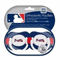 Atlanta-Braves-Pacifiers-2-Pack-Safe-BPA-Free-by-Baby-Fanatic