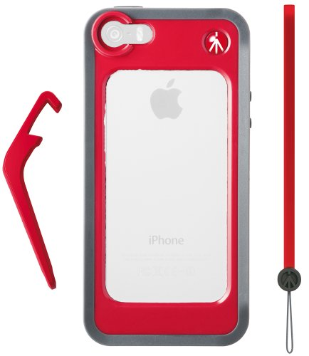 Manfrotto Carrying Case For Iphone 5/5S - Retail Packaging - Red