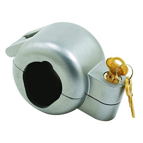 Prime-Line Products S 4180 Door Knob Lock-Out Device, Diecast Construction, Gray Painted Color, Keyed Alike (Door Knob That Locks compare prices)