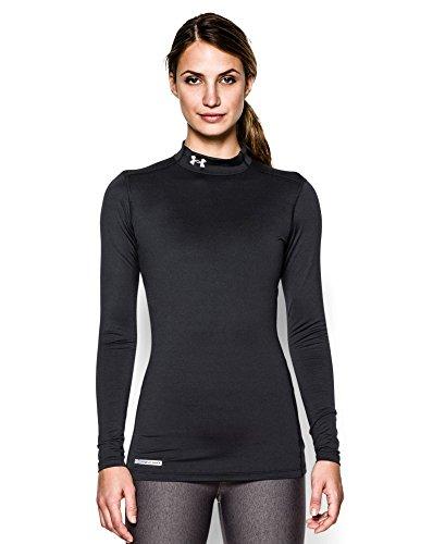 under-armour-womens-coldgear-authentics-mock-black-metal-medium