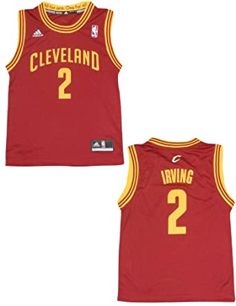 NBA Cleveland Cavaliers Irving #2 Youth Pro Quality Athletic Jersey Top by NBA