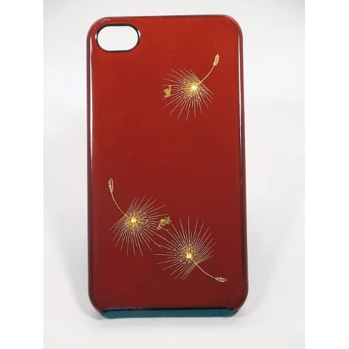 Amazon.com: Maki-e iPhone 4/4S Cover Case Made in Japan - Hika Chinkin (Blown Dandelion Seed): Cell Phones & Accessories