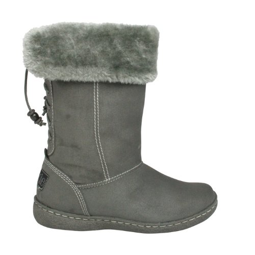 Pixie fully fur lined Rosie boot grey size 6