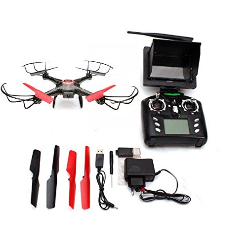 Jjrc Drone V686 5.8g FPV Headless Mode Rc Quadcopter with Hd Camera 2mp