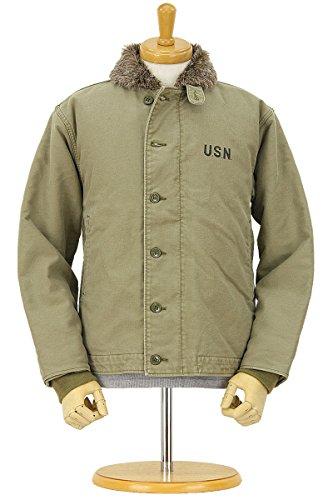 (ヒューストン) HOUSTON N-1 デッキジャケットユーズド加工 米海軍 (U.S.NAVY) 5N-1UD-TN Tan