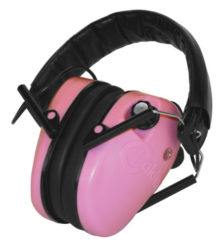 Caldwell Pink Low Profile E-Max Electronic Ear Muffs