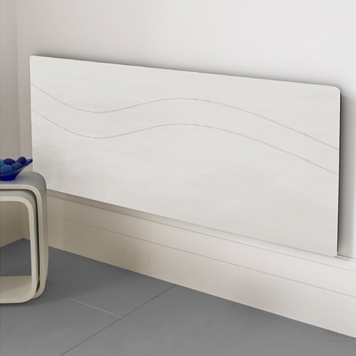 RADIATOR CABINET MODERN COVER MDF BEDROOM LOUNGE HALL SMALL 900mm WHITE. SAFE