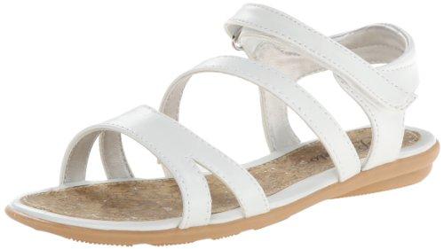 Toddler Girl White Sandals front-1053488