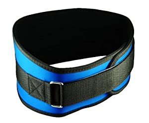 "Back Support Belt - Size Extra-Large 40 - 46"" - Blue"