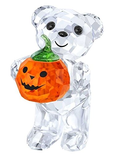 Swarovski Crystal Kris Bear A Pumpkin for you Authentic MIB 5223252